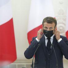 Prancūzijos prezidentas Vilniuje: septynios svarbiausios citatos