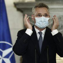 NATO vadovas paragino Graikiją ir Turkiją įsitraukti į derybas politiniu lygmeniu