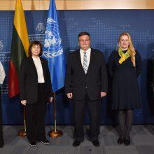 Konferencijoje kalbėta apie Lietuvos įsitraukimą į JT veiklą
