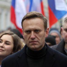 V. Putinas teigia asmeniškai leidęs A. Navalno pervežimą į Vokietiją