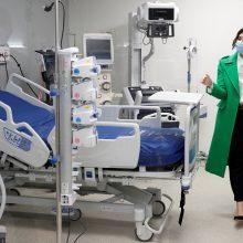 Madride atidaroma ligoninė COVID-19 pacientams
