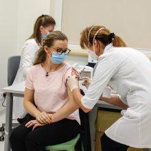 Pirmasis vakcinacijos etapas baigtas