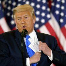 EP narys estas J. Madisonas nominavo D. Trumpą Nobelio taikos premijai