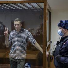 Kolonijoje kalintis A. Navalnas neteko 8 kg svorio
