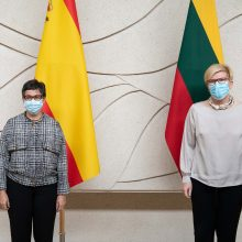 Aptartos Lietuvos ir Ispanijos bendradarbiavimo perspektyvos ir pandemijos valdymas