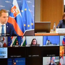 A. Pranckevičius: vakcinų tiekimas ir gamybos pajėgumai tebekelia iššūkį skiepijimui ES
