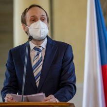 Čekijoje prisaikdintas naujasis užsienio reikalų ministras