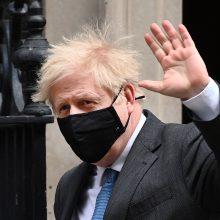 B. Johnsonas pasidžiaugė konservatorių pergale JK opozicinės Leiboristų partijos bastione