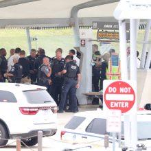 Metro stotyje prie pat Pentagono įvyko susišaudymas