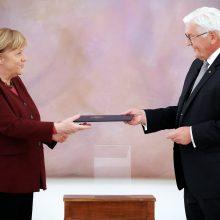 Vokietijos prezidentas atleido vyriausybę