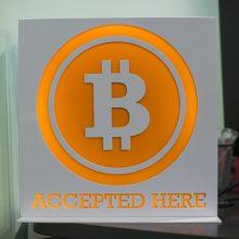 Bitkoino rinkos vertė viršijo 1 trln. JAV dolerių