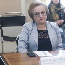 L. Andrikienė išrinkta Europos Tarybos Parlamentinės Asamblėjos viceprezidente