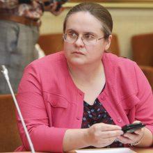 A. Širinskienė siūlo išplėsti specialiojo prokuroro statuso taikymą
