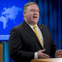 JAV nutraukia draugystės sutartį su Iranu