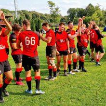 Lietuvos regbio-15 čempionate – artėjanti kulminacija ir geriausio žaidėjo pokštas