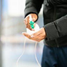 VVKT: būkime budrūs naudodami dezinfekcinius skysčius