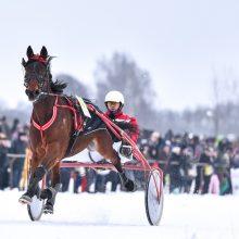 """Vasario 1-ąją – tradicinės žirgų lenktynės """"Sartai 2020"""""""