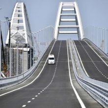 ES ir Britanija paskelbė sankcijų Krymo tilto statytojams