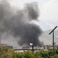 Kabule sprogus bombai nukentėjo keli Rusijos ambasados darbuotojai