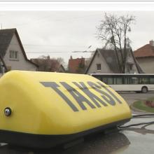 Kaune viešosios tvarkos skyrius ėmėsi taksistų
