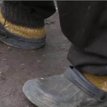 Iš policijos paleistas vyras nušalo kojas