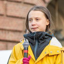 G. Thunberg: klimato aktyvistų reikalavimai Davose buvo visiškai ignoruojami