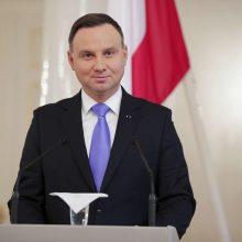 Lenkijos prezidentas: yra poreikis keisti ES smerkiamą teisėjų drausminimo įstatymą
