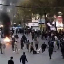 JAV: Irane per pastaruosius protestus galimai žuvo daugiau kaip 1 000 žmonių