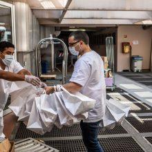 Italijoje per parą registruoti 229 nauji infekcijos atvejai, 12 žmonių mirė