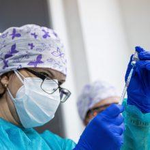 Danija tikisi vakcinacijos kampaniją užbaigti iki birželio pabaigos