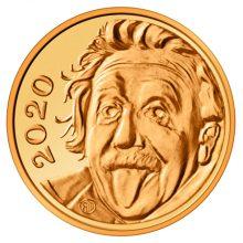 Šveicarija nukaldino mažiausią pasaulyje proginę monetą