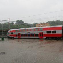 Nuo gruodžio – tiesioginis susisiekimas traukiniais tarp Vilniaus ir Kauno