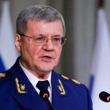 Rusijos prokurorai atskleidė 22 mln. eurų vertės sukčiavimą gynybos sektoriuje