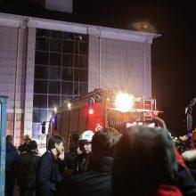 Gaisras senelių namuose netoli Maskvos nusinešė dvi gyvybes
