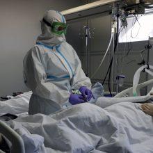 Rusija pranešė apie 101 mediko mirtį nuo COVID-19