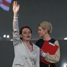 V. Capkala ragina pripažinti S. Cichanouskąją išrinktąja prezidente