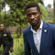 Ugandos opozicijos lyderis B. Wine