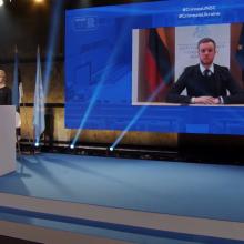 G. Landsbergis: Rusija privalo prisiimti atsakomybę už žmogaus teisių pažeidimus Kryme