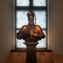 Į Valdovų rūmus atkeliavo ypatinga dovana: Žygimanto Augusto biustas