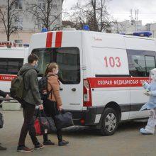 Baltarusijoje per parą koronavirusas nustatytas 936 žmonėms