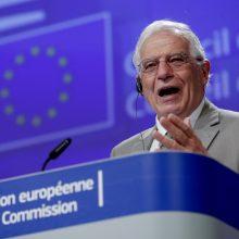 ES diplomatijos vadovas: ES ir toliau padės Ukrainai
