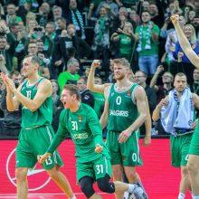 Žaidėjų susitikimas su Eurolygos vadovais: krepšininkai nenori tęsti sezono