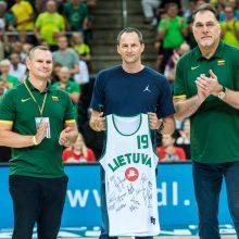 A. Karnišovas apdovanotas už nuopelnus Lietuvos krepšiniui