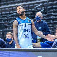 Žaidimą kontroliavę Prienų krepšininkai pratęsimo neišplėšė