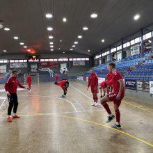 Salės futbolo rinktinė: į elitą – per išbandymus <span style=color:red;>(specialiai iš Ispanijos)</span>