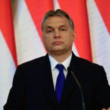 Vengrija reikalauja JT žmogaus teisių komisaro atsistatydinimo dėl kritikos V.Orbanui