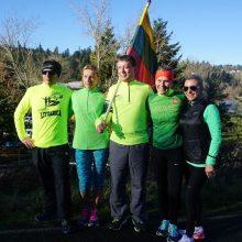 """""""Gyvybės ir mirties keliu"""" bėgo ir Portlando lietuviai"""