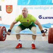 Dėl dopingo vartojimo diskvalifikuotas sunkiaatletis A. Didžbalis ketina tęsti kovą