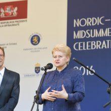 Vidurvasario šventė sujungė Baltijos ir Šiaurės šalis