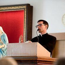 Jaunas kunigas savo darbo vieta vadina Kauno klinikas